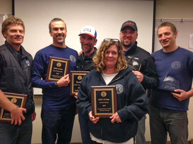 2014 EMS Banquet Award Winners - Contributed photo