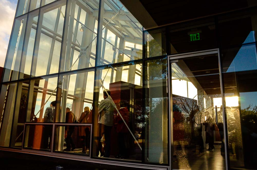 A view from outside the new building - Click to see more photos - Tim Dustrude photo