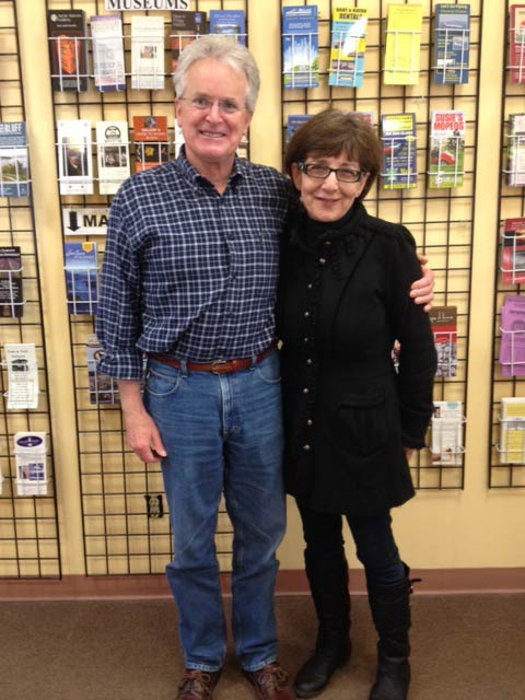Tom Kirschner and Becky Day - Contributed photo