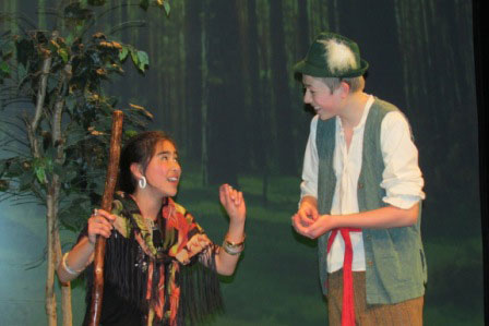 Ayla Ridwan as Gypsy and Alex McIntire as Jack Horner - Contributed photo