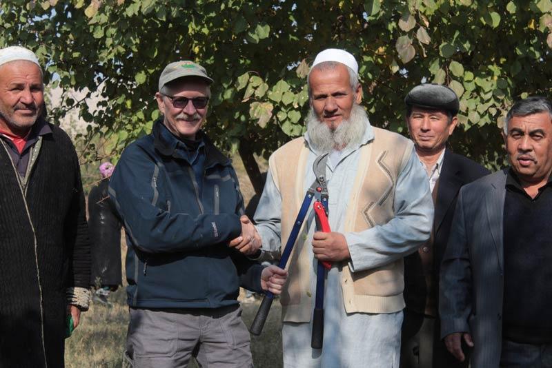 Bruce Gregory in Tajikastan - Contributed photo
