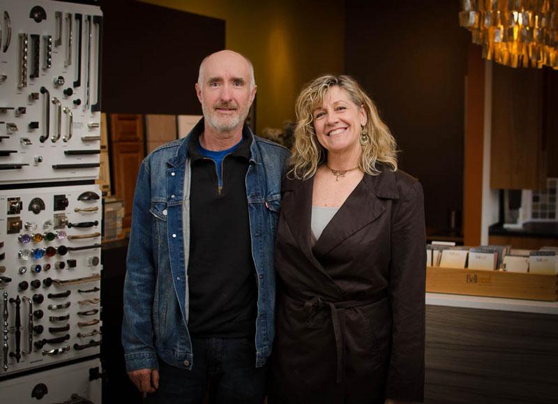 Terry Whalen and Lori Williams of Design Build San Juan - Tim Dustrude photo