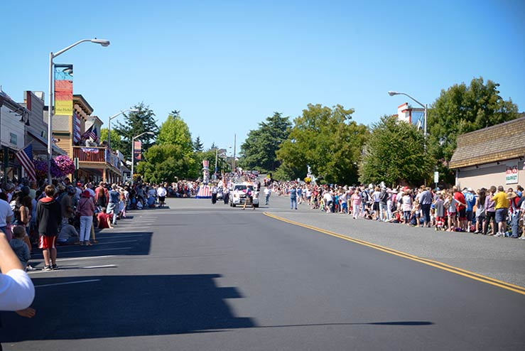 2015's Friday Harbor 4th of July Parade Theme Announced -  SJ Update file photo