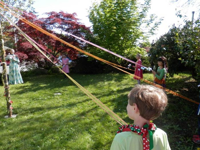 The Maypole at Stillpoint School - Contributed photo