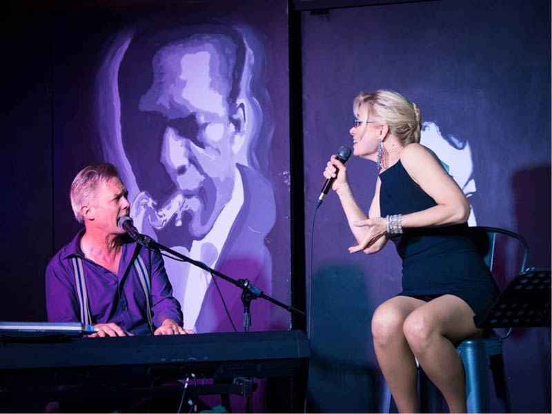At the Rumor Mill on Saturday - Heather Keizur and Steve Christofferson - Contributed photo