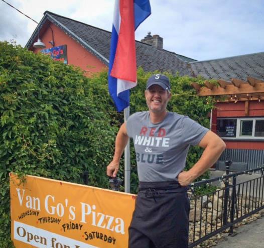 Daniel Van Hamersfeld of Van Go's Pizza - Contributed photo