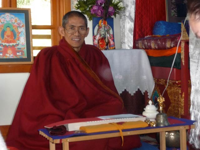Khenpo Pema Wangdak comes to Friday Harbor - Contributed photo