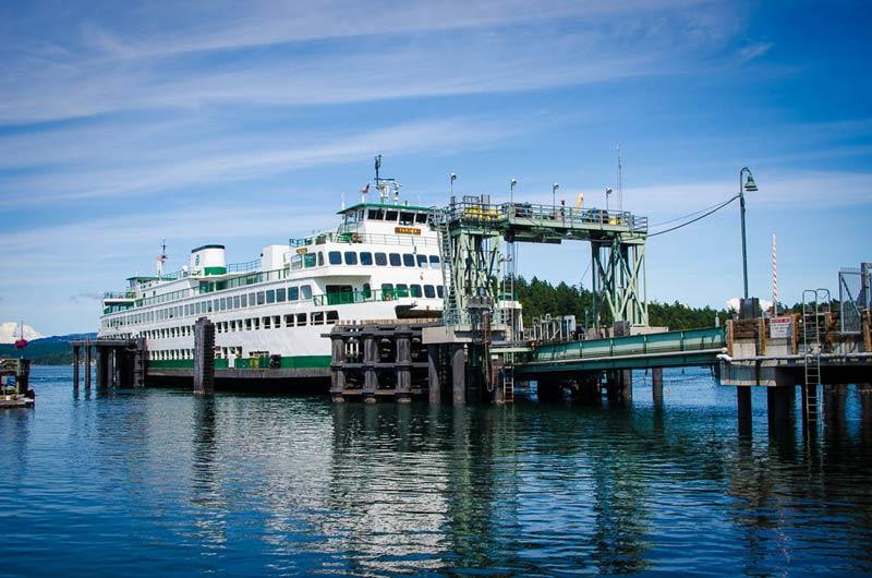 WSF Yakima at Friday Harbor Ferry Landing - Tim Dustrude photo