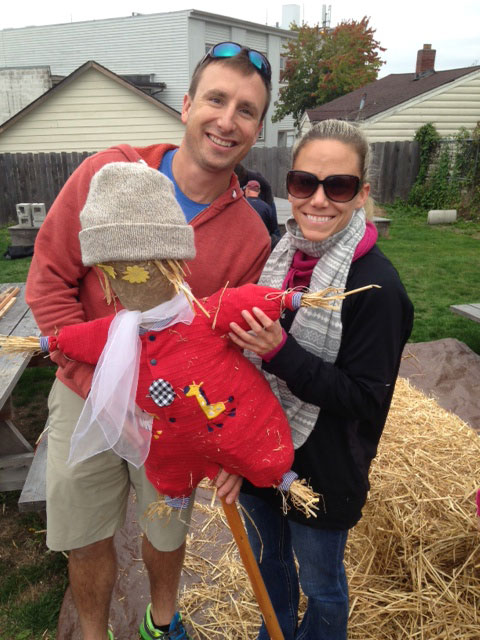 Red Scarecrow - Contributed photo