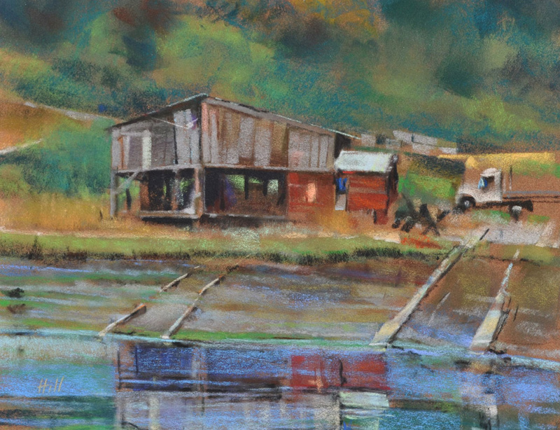 Wayside Ways, Pastel by Stephen Hill - Contributed photo