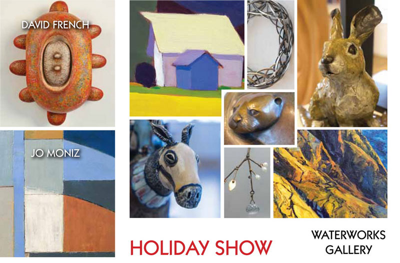 Holiday Show at WaterWorks Gallery