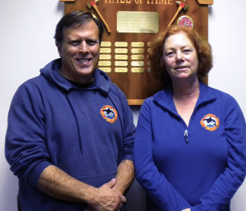 Kurt Long Lt., FF2, WE2, FBO and Peggy Long WF2, Logistics - Contributed Photo