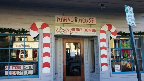 Nana's Holiday House at 165 First Street - Contributed photo