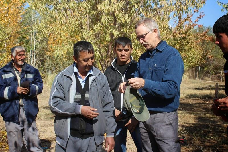 Bruce Gregory in Tajikstan - Contributed photo
