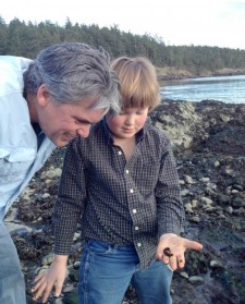 Local Attorney Cyrus Field with his Son - Contributed photo