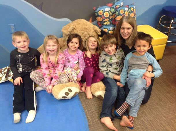 Cathy Kromer and friends at A Place to Play - Contributed photo