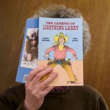 What Aaron's reading - Aaron Shepard photo