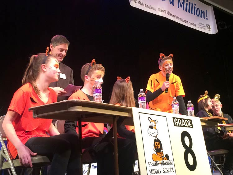 The 8th Grade Team at last year's Knowledge Bowl - Contributed photo