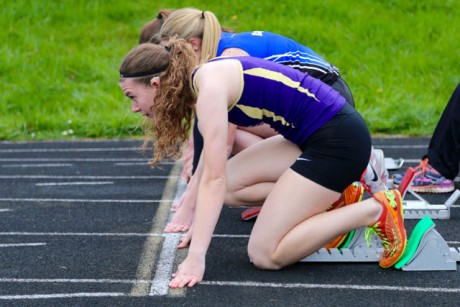Track & Field events at the High School on Thursday - Ted Strutz photos