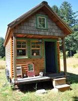 A tiny house - Contributed photo