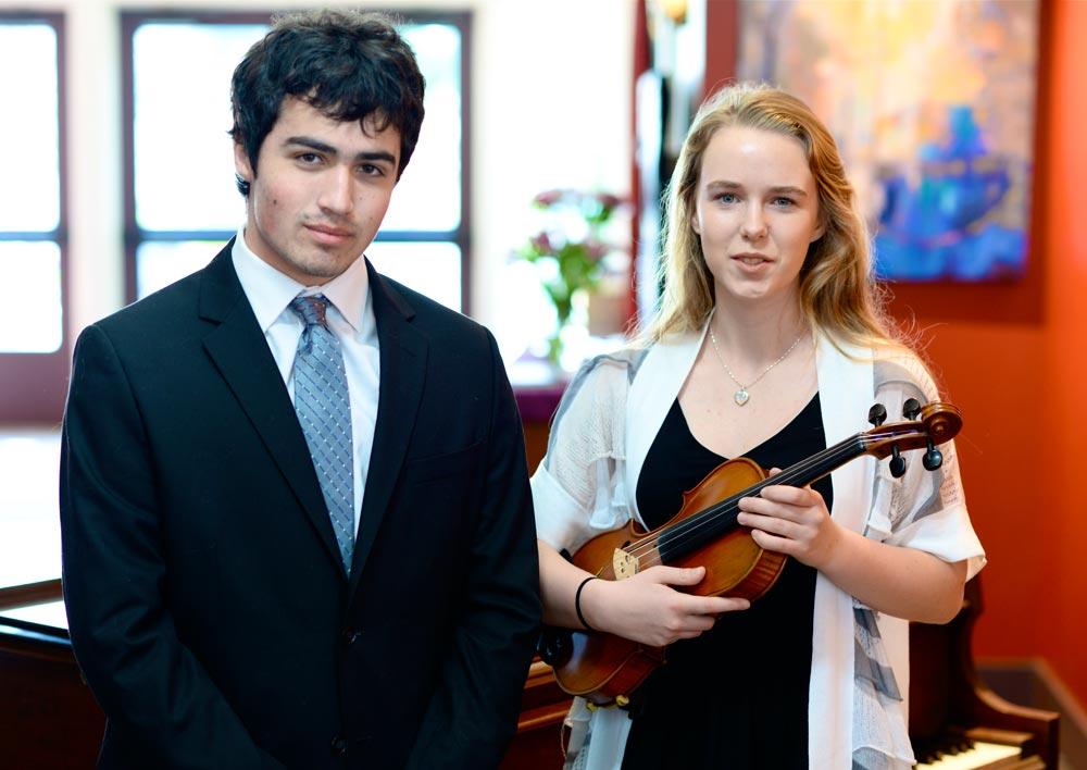 Gavin Goodrich and Beatrice Grauman-Boss - Contributed photo