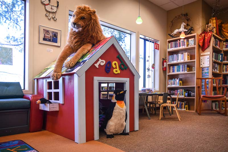 The new Book Nook for kids at the Library - Tim Dustrude photo