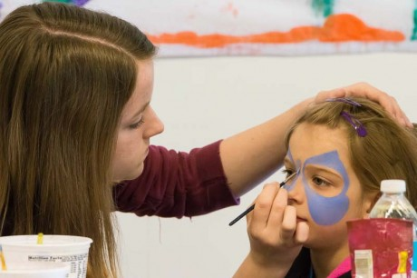 The soroptimists are looking for a few good face painters - Aaron Shepard photo