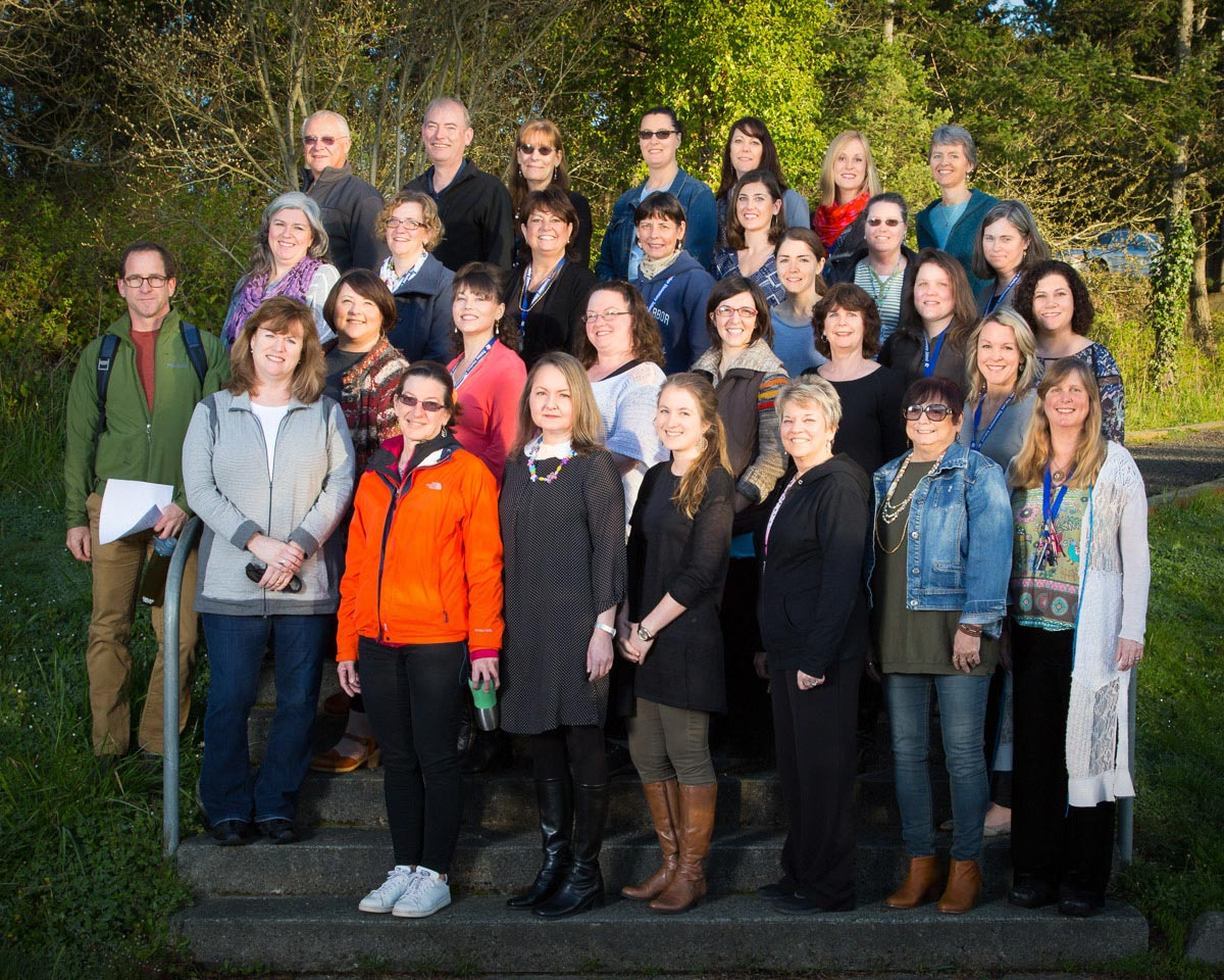 Staff of Friday Harbor Elementary School - Click to enlarge - Contributed photo