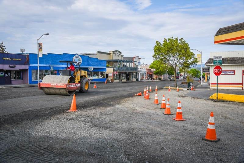 Preparing for paving - SJ Update photo
