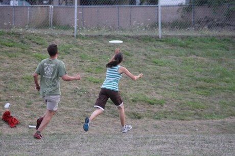 Ultimate Frisbee at the Elementary School - Contributed photo