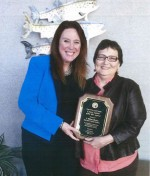 Washington Secretary of State Kim Wyman and SJ County Auditor Milene Henley - Contributed photo