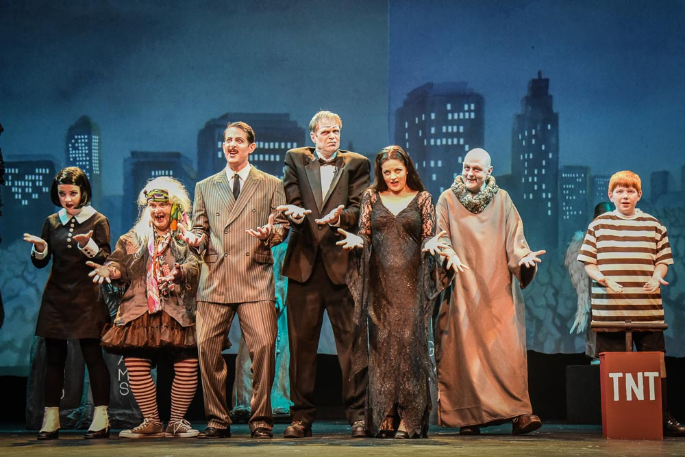 SJCT's production of The Addams Family - Tim Dustrude photo