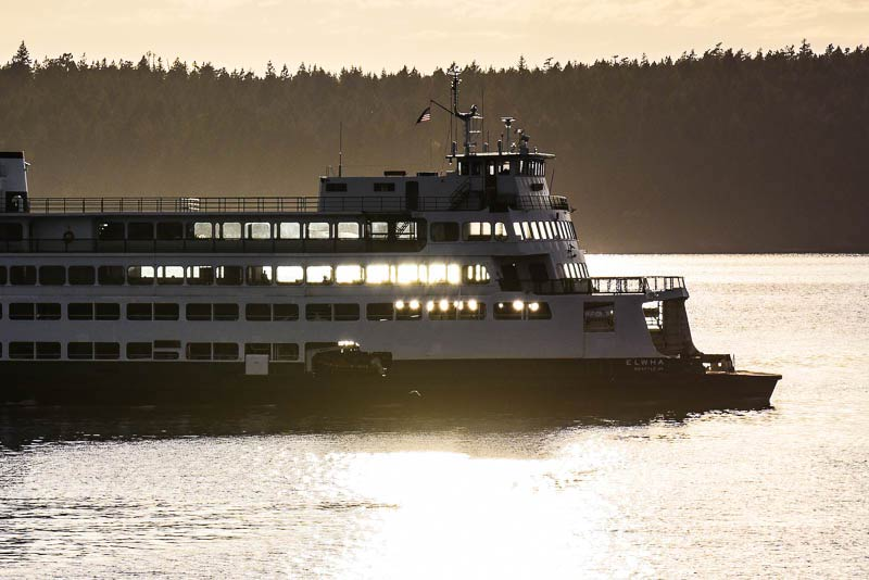M/V Elwha in Upright Channel - Tim Dustrude photo