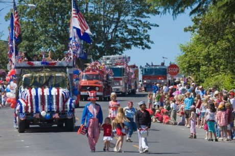 Friday Harbor's July 4th Parade - Mark Gardner photo