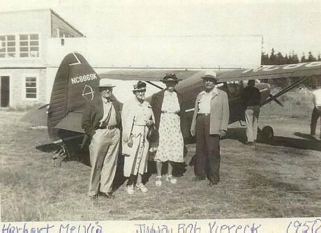 Herbert, Melvia, Julia, & Bob Viereck - 1950