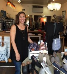 Kim Wickman at Be Chic Boutique - Contributed photo