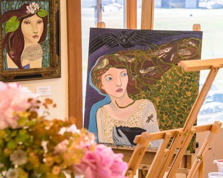 Oil paintings by Becky Kilpatrick, Dreaming Season Studio - Aaron Shepard photo