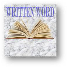 written-word