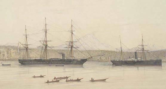 U.S. Coast Survey Ship Active - James McMurtry Artwork