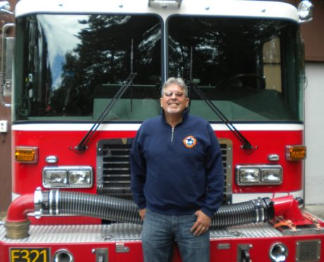 Dan Tracy Volunteer Firefighter - Sheila Harley Photo