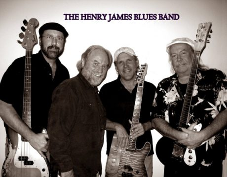The Henry James Blues Band - Contributed Photo