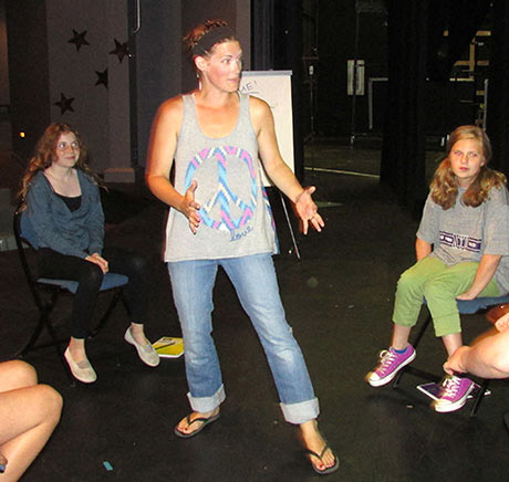 Amanda Smith teaches acting - Contributed photo