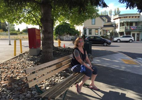 Bench Town Art Project - Peggy Sue McRae Photo