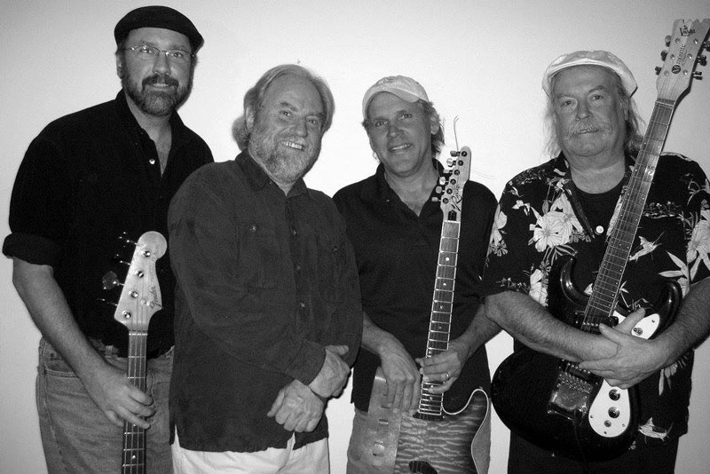 Cecil, Roger, Tom and James will rock it up Wednesday night - Contributed photo