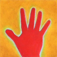 Red Hand - Peggy Sue McRae Artwork