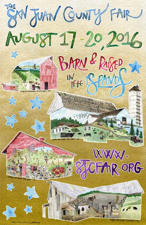 2016 San Juan County Fair - Jill Bliss artwork