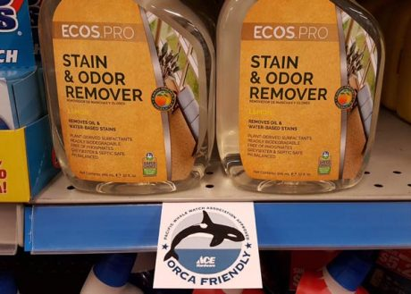 One example of Orca-Friendly product signage - Contributed photo