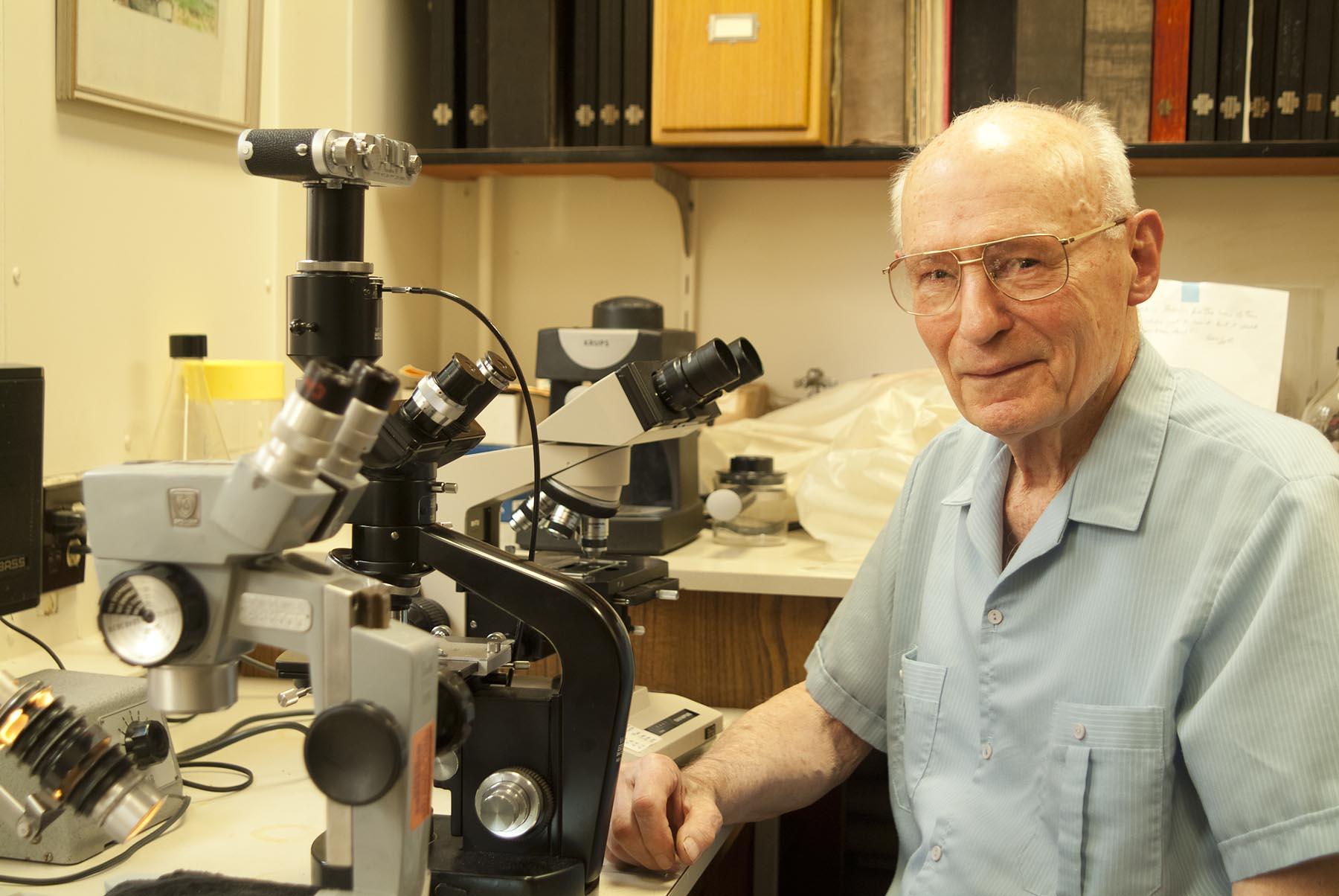 Dr. Eugene Kozloff, 2006 - Courtesy of Kathleen Ballard Photography