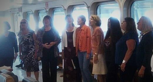 Ferry Sing - Nancy DeVaux Photo