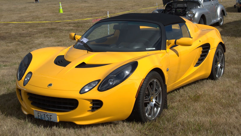 Lotus Elise at the 2015 Concours - Contributed photo